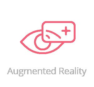Augmented reality logo