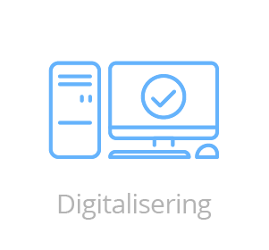 Digitalisering logo